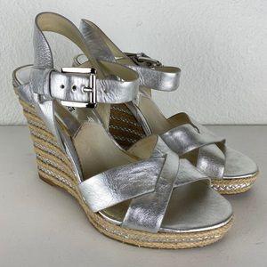 Michael kors wedges platform sandals